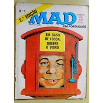 Revista Mad N°1 Editora Vecchi - 2º Ed. - 1982