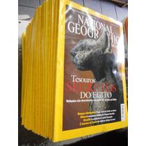 Lote De Revistas National Geographic Brasil - 37 Exemplares