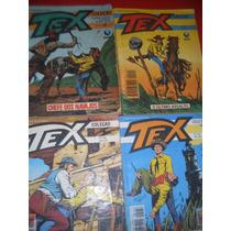 4 Revistas Tex Coleção Numeros - 29- 122- 130- 136