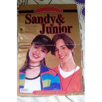 Revista Ídolos De Ouro - Sandy E Junior