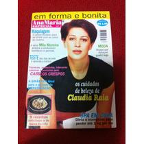 Revista Ana Maria Especial Claudia Raia Yoga Alimentação