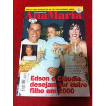 Revista Ana Maria Capa Claudia Raia Edson Celulari Xuxa