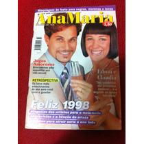 Revista Ana Maria Capa Claudia Raia Edson Celulari Novelas