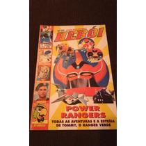 Revista Heroi 20 Power Rangers Heroi Gold N. 20 Sampa Power