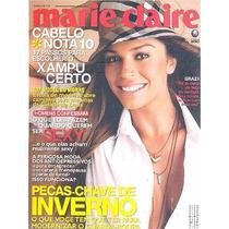 Marie Claire: Grazi Massafera / Tokio Hotel / Sergio Marone