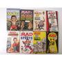 Lote Com 08 Antigas Revistas De Bolso Mad Americanas
