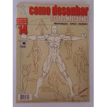 Revista Antiga E Usada Como Desenhar Figuras Masculinas 14