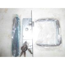 Fechadura Stam Para Portão De Ferro Ref:600/11 Inox