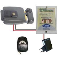Kit Acionador De Fechadura Elétrica 12v Por Controle Remoto