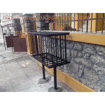 Lixeira De Ferro Para Calçadas ,condomínio,etc - 480,00