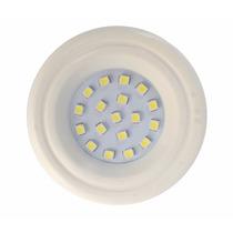 Spot Branco Redondo Embutir P/ Móveis 18 Leds 1w Luminária