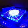 Kit 10 Spot Vidro Embutir 3 Leds 6w Efeito Craquelado Azul