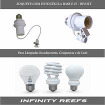 Soquete Com Sensor Fotoelétrico - Fotocélula - Infinity