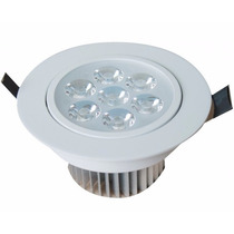 Kit 10 Spot Super Led 7w Redondo De Embutir