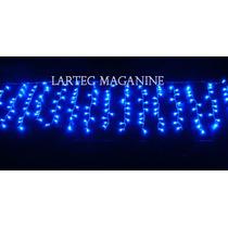 Pisca Led Cascata 300 Lampadas Azul 110v