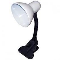 Luminária Para Leitura C/ Garra Haste Flexivel Várias Cores
