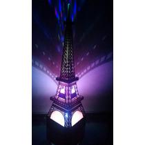 Luminária De Led Torre Eiffel Com Controle Remoto