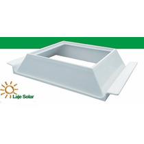 Kit 10 Ecolaje H8 30centímetros Laje Solar P/ Bloco De Vidro