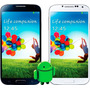 Celular Smartphone S4 Mini I9500 Android 3 Chips + Brindes
