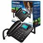 Telefone Celular Fixo De Mesa Ca-40 Intelbras Aquario Rural