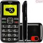 Telefone Celular Dl Yc110 Dual + Nf-e Para Idoso S/ Juros