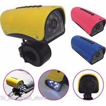 Lanterna Led Câmera Filmadora C/ Entrada Micro Sd P/esportes