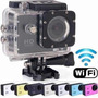 Camera Esportiva Sports Hd Wifi Fullhd 1080p Moto Bike Carro