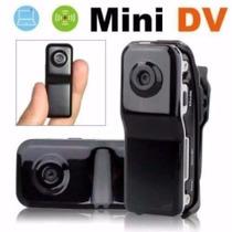 Câmera Filmadora Mini Dv Espiã Microfone Capacete + Sd 8gb
