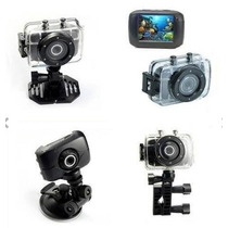 Camera Dig Filma Hd Suport Moto Bike Car Prova Agua Capacete