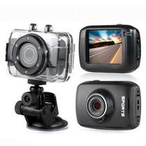 Mini Camera Filmadora Sports Hd Carro Bike Moto Prova Dágua