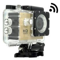 Filmadora Wi-fi Câmera Hd1080p Esporte Capacete Moto Bike Hd