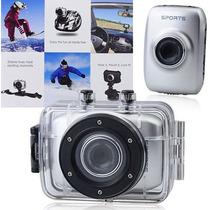Camera Filmadora Digital Sport E Automotiva A Prova De Agua