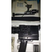 Filmadora Paximat 8mm Sound Com Caixa Manual E Microfone
