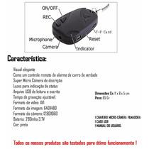 Chaveiro Espião Câmera Foto E Vídeo