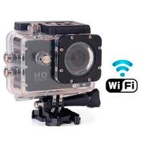 Camera Filmadora Action Hd 1080p Capacete Microfone Wifi