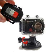 Câmera Hd Filmadora Profissional Capacete Agua Original Wow