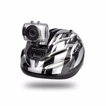 Filmadora Câmera Hd Esporte Mergulho Capacete Tipo Gopro E66