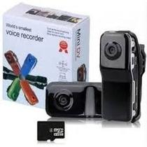 Filmadora Mini Dv 720 X 480 Md80 + Acessórios + Cartão 8gb !