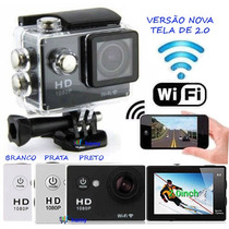 Câmera Esportiva Filmadora Prova Dágua Wifi Hd Sport Cam