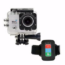 Camera Sport Wifi Fullhd Prova Dagua + Controle Frete Gratis