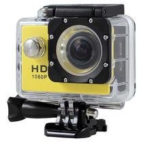 Camera Sport 1080p Full Hd Capacete Bike Moto Prova De Agua