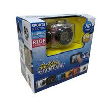 Camera Touch Screen Sport Foto Filma Prova D Agua Moto Bike