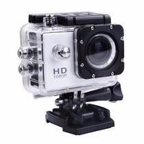 Filmadora Câmera Capacete Esporte Mergulho Action Cancorder