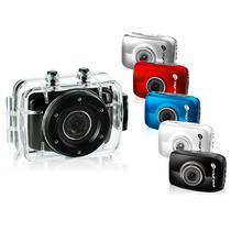 Mini Câmera Filmadora Sports Alta Definição Bike Moto Carro
