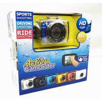 Camera Filmadora Digital Hd720p Action Camcorder Prova Dágua