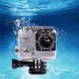 Filmadora Câmera Capacete Esporte Mergulho 1080p Moto Hd Dv