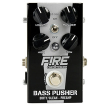 Pedal Fire Contra Baixo Bass Pusher True By Pass