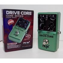 Pedal Guitarra Nux Drive Core - Drive E Booster - Ts9 - Novo