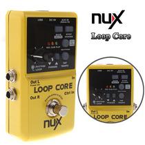 Pedal Loop Core Nux - Pronta Entrega (ñ É Boss Rc-3 Loop )