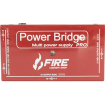 Fonte Para 13 Pedais Fire Power Bridge Pro -3 Anos De Garant